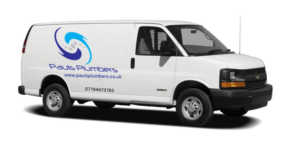 paul's plumbers van