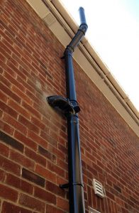 soil pipe cemented with vent