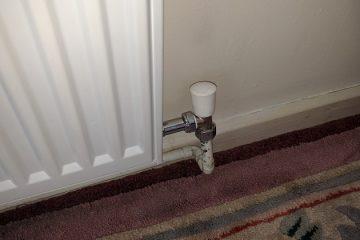 radiator shut off valve