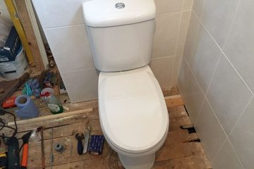 close couple toilet install