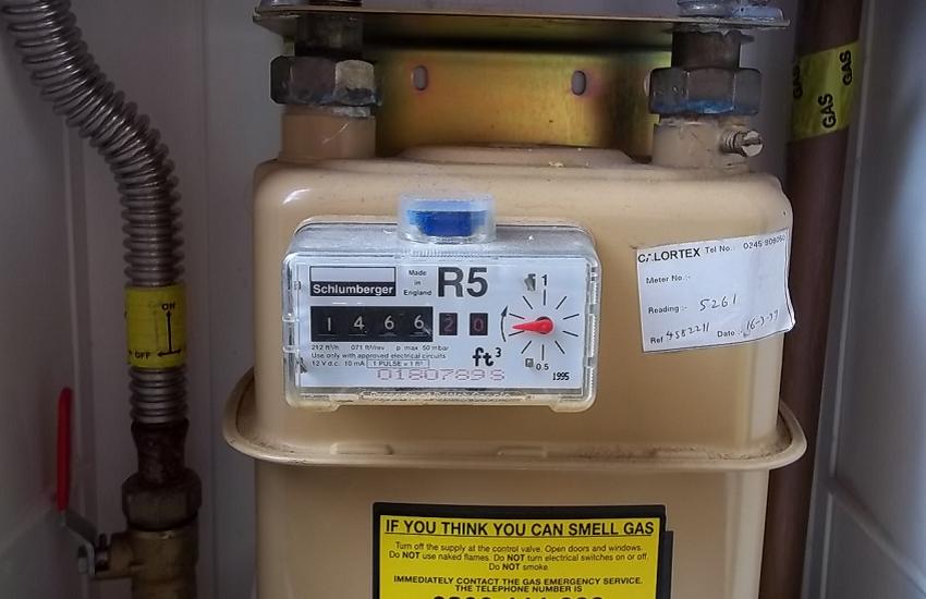 older gas meter